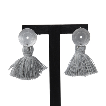 Picture of Earring Hanna, grey