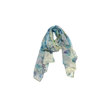 Picture of Scarf Victoria, yellow/blue