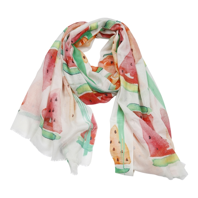 Picture of Scarf Allie, green/red