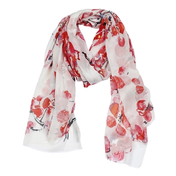 Picture of Scarf Cassidy, red mix