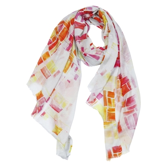 Picture of Scarf Kaia, pink/orange