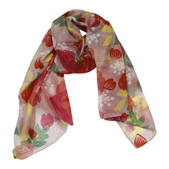 Picture of Scarf Leslie, red mix