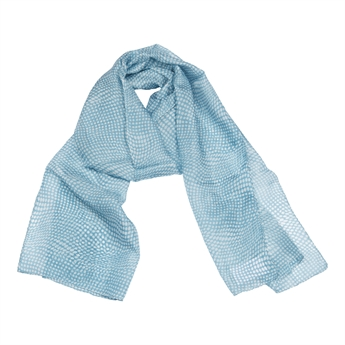 Picture of Scarf Honfleur, blue