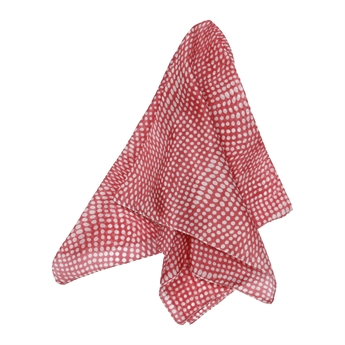 Picture of Mini scarf Honfleur, dk red