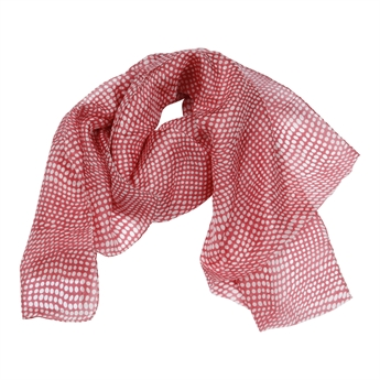 Picture of Scarf Honfleur, dk red