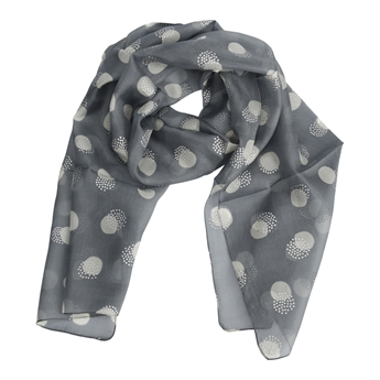 Picture of Scarf Frances, grey/silver