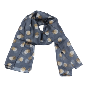 Picture of Scarf Frances, lt/grey/gold