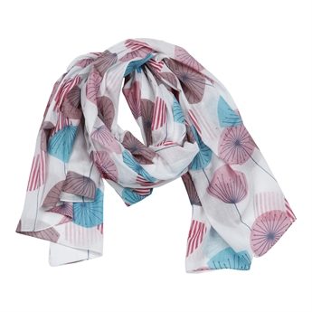 Picture of Scarf Sky, turquoise/pink