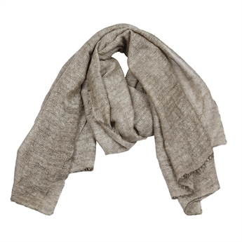 Picture of Scarf Paige, beige/silver