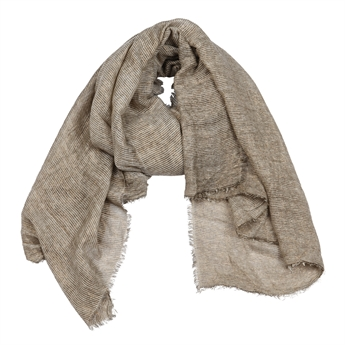 Picture of Scarf Paige, beige/gold