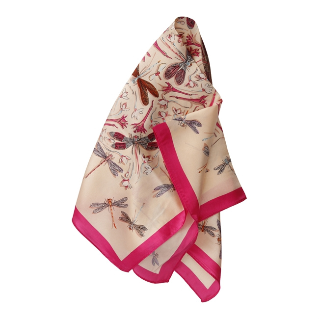 Picture of Mini scarf Angelina, pink mix