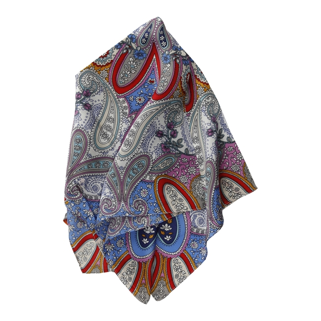 Picture of Mini scarf Rachel, blue mix