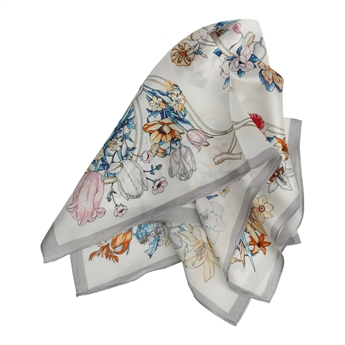 Picture of Mini scarf Catherine, grey mix