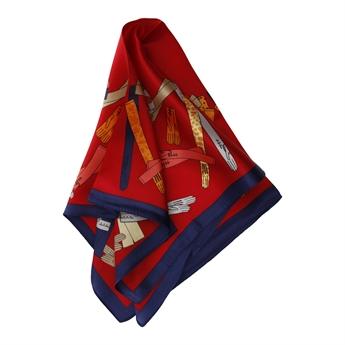 Picture of Mini scarf Daniela, red mix