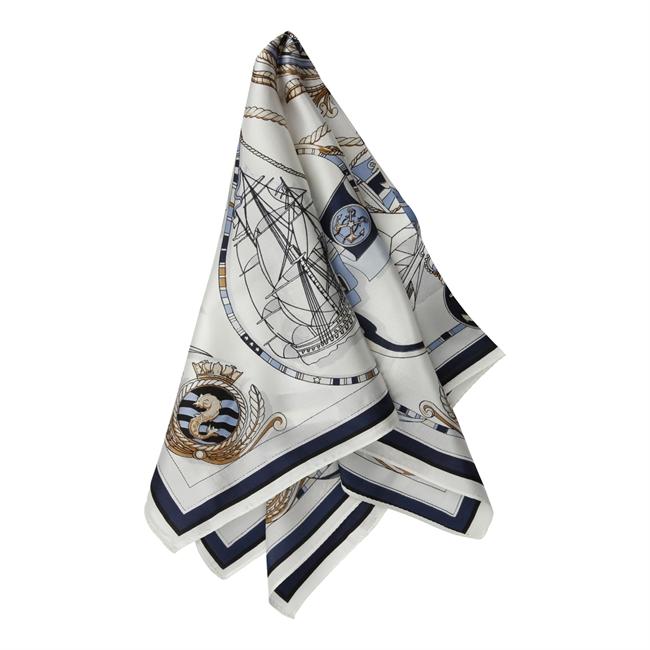 Picture of Mini scarf Juliana, lt blue mix