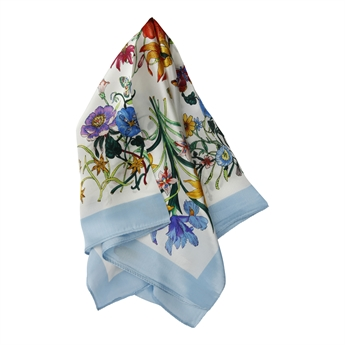 Picture of Mini scarf Catherine, lt blue mix