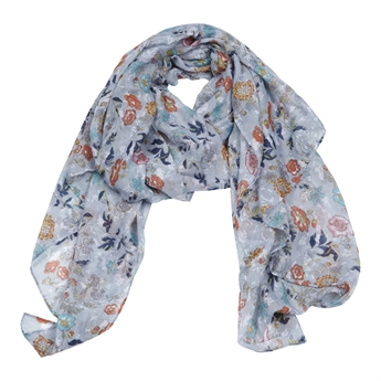 Picture of Scarf Andrea, grey mix