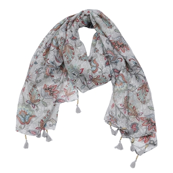 Picture of Scarf Lilly, grey mix