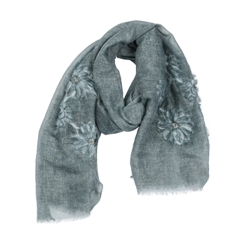 Picture of Scarf Ariel, sea green