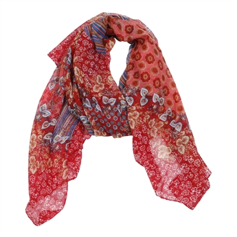 Picture of Scarf Eliza, pink/red