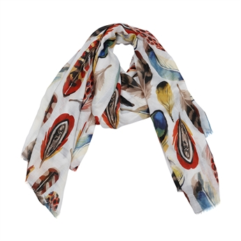 Picture of Scarf Brooke, red