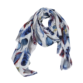 Picture of Scarf Brooke, blue