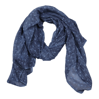 Picture of Scarf Mariah, dk blue