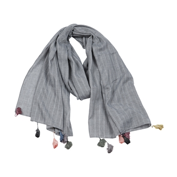 Picture of Scarf Alina, grey