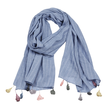 Picture of Scarf Alina, lt blue