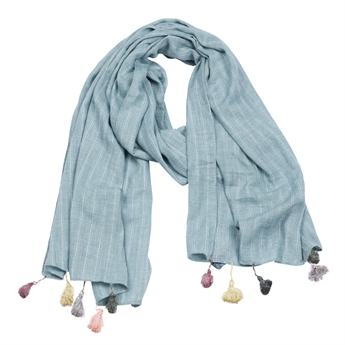 Picture of Scarf Alina, turquoise