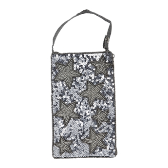 Picture of Mini clutch Ashlynn, silver