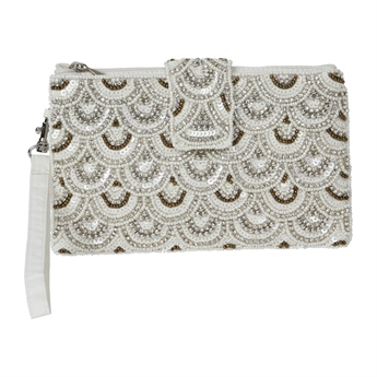 Picture of Mini clutch Aleah, ivory