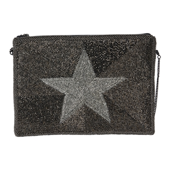 Picture of Clutch bag Charlie, silver