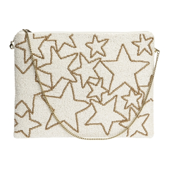 Picture of Clutch bag Cassidy, ivory