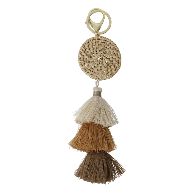 Picture of Keychain/Bag charm Nora, beige