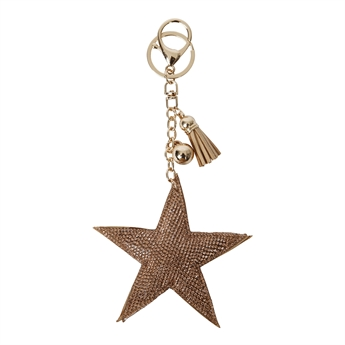 Picture of Keychain/Bag charm Amelia, champagne