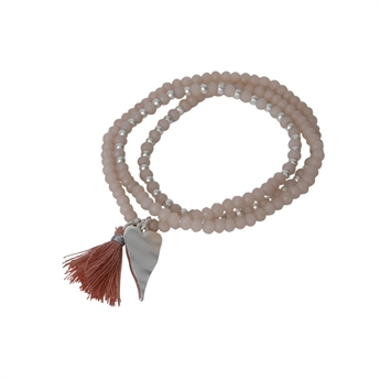 Picture of Bracelet/necklace Lotta, pink