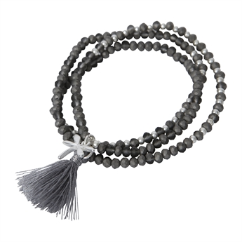 Picture of Bracelet/necklace Moa, grey