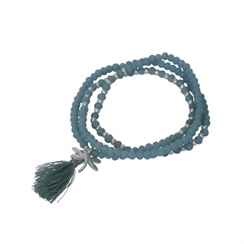 Picture of Bracelet/necklace Moa, turquoise