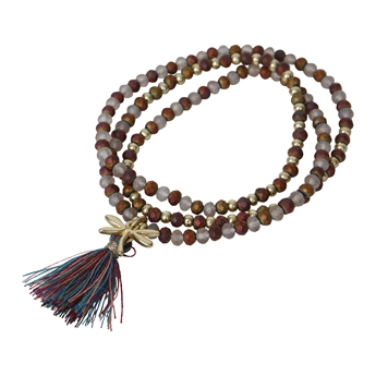 Picture of Bracelet/necklace Moa, golden