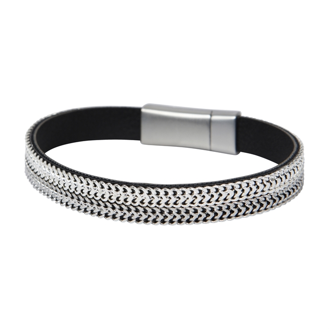 Picture of Bracelet Anna, gun metal