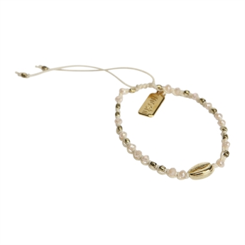 Picture of Bracelet Zoe, ivory/gold