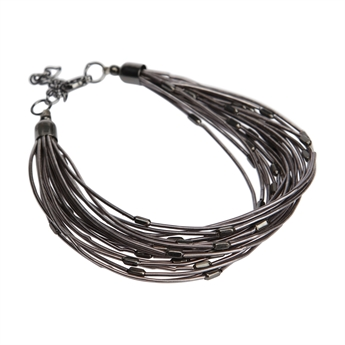 Picture of Bracelet Josephine, gun metal