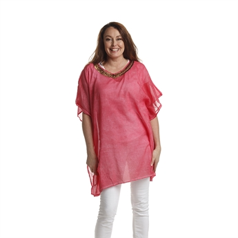 Picture of Kaftan San Remo, pink