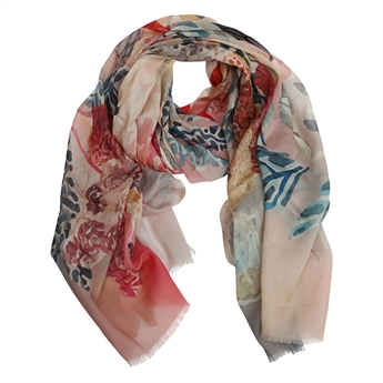 Picture of Scarf Amira, pink multi