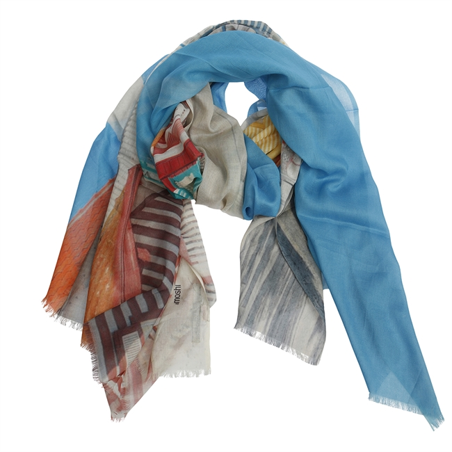 Picture of Scarf Mia, blue mix