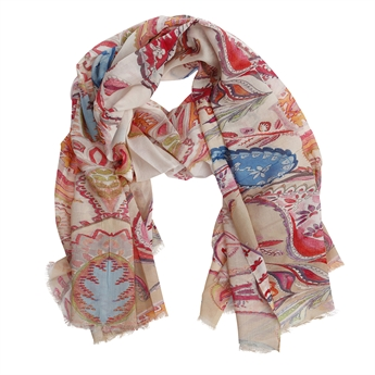 Picture of Scarf Kinley, pink/blue