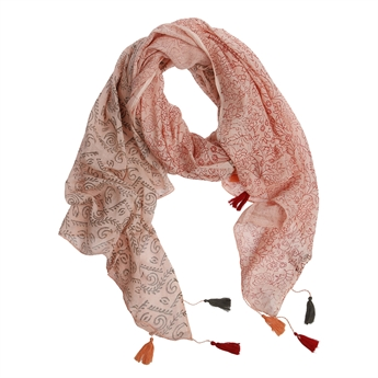 Picture of Scarf Blaire, coral red