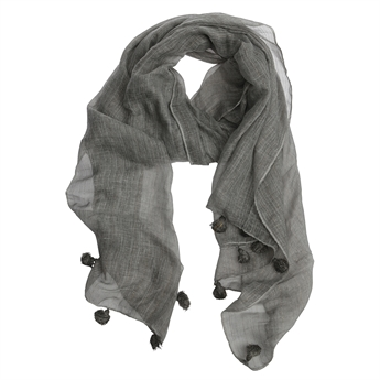 Picture of Scarf Nora, grey
