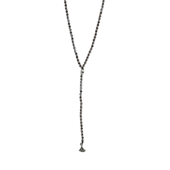 Picture of Necklace Kinsley, grey/silver